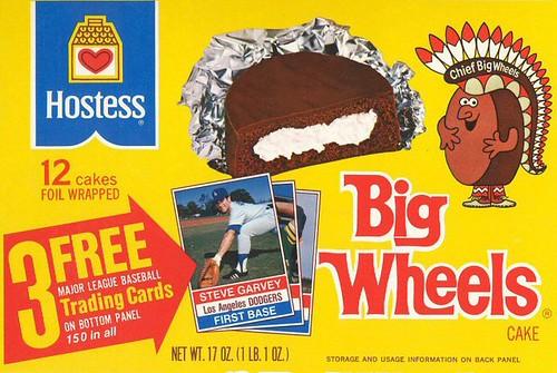 Big Wheels snack cakes