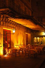 Night Cafe in Arles (yousef_anani) Tags: france provence arles vangogh nightcafe ourworld2006