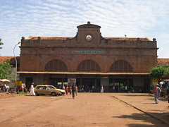 bamako train station (elmina) Tags: express dakar bamako