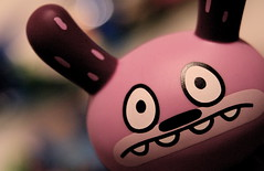 Muppet (TerryJohnston) Tags: macro kidrobot dunny davidhorvath 2faceseries2