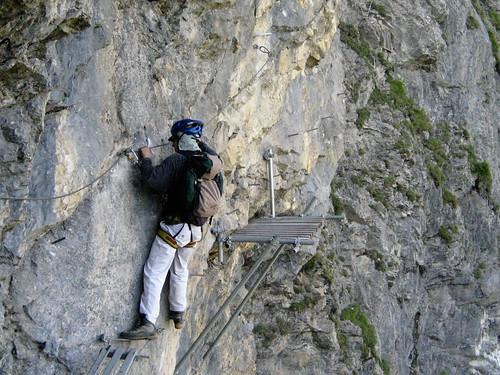 Klettersteig Switzerland : Klettersteig switzerland graustock klettern