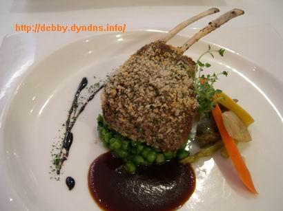 好樣餐廳(VVG Bistro)的普羅旺斯羊小排佐碎碗豆、朝鮮薊