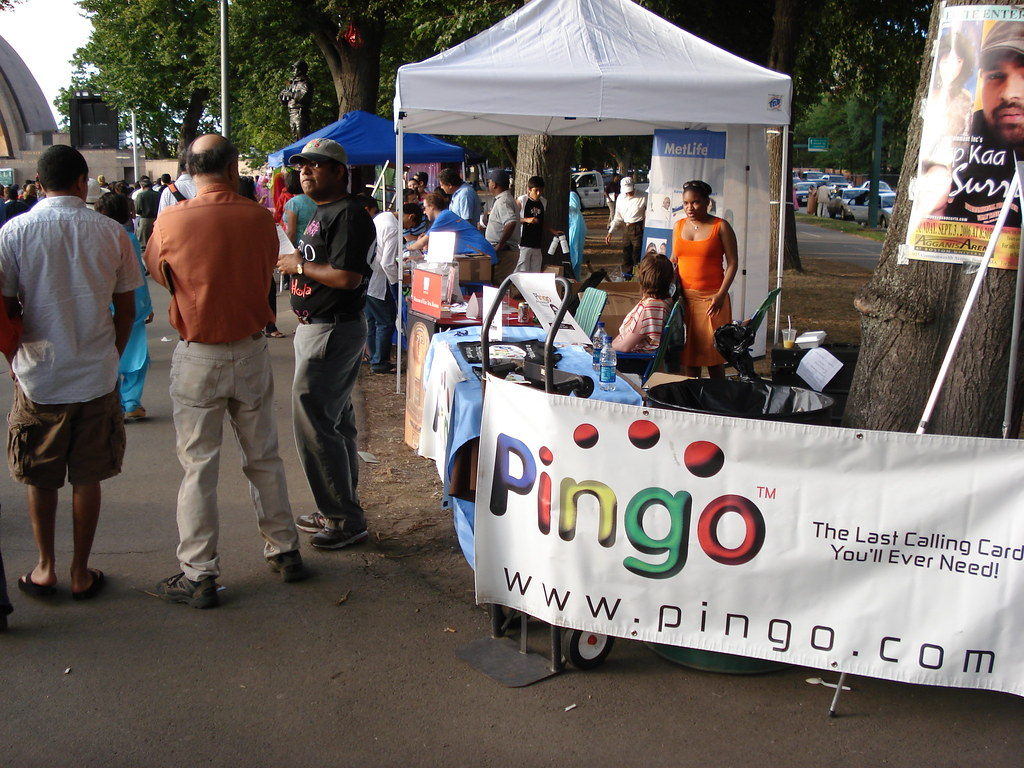 Pingo India Prepaid Phone Card Promotion