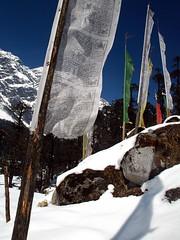 Prayer flags, Yumthang