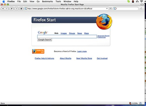 My Altered Firefox for Mac