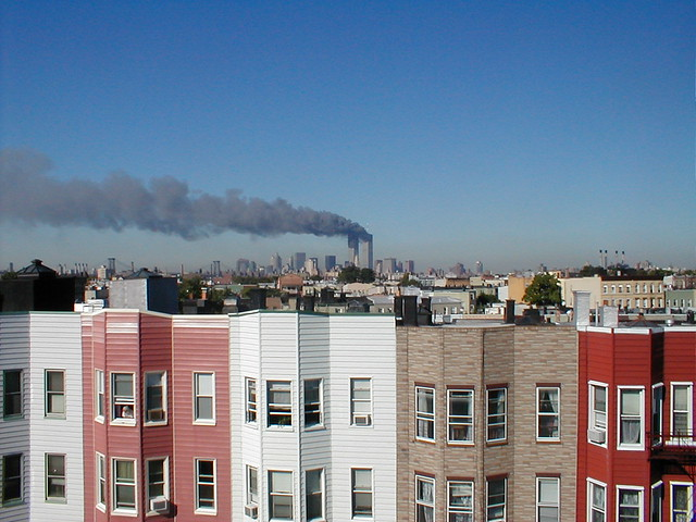 9/11 from Greenpoint - Horizontal