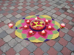 P6100217 (Nanthini) Tags: from cousins dearest kolam