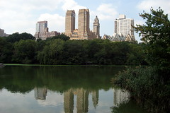 NYC - Central Park: The Lake (wallyg) Tags: park nyc newyorkcity lake ny newyork reflection skyline nhl centralpark manhattan landmark upperwestside gothamist uws thelake nationalhistoriclandmark nationalregisterofhistoricplaces usnationalhistoriclandmark nrhp usnationalregisterofhistoricplaces newyorkcitylandmarkspreservationcommission nyclpc sceniclandmark