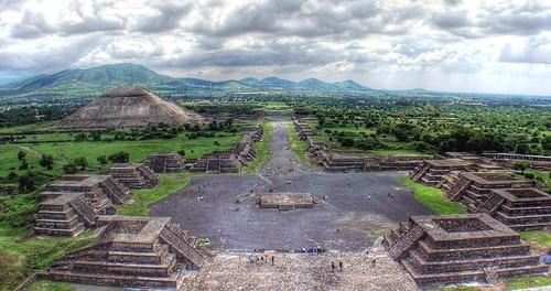 Panorámica de Teotihuacan por bdebaca.