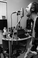 September 24th 2006 (Stephen Poff) Tags: blackandwhite music guitar stephen sing record recording 365days