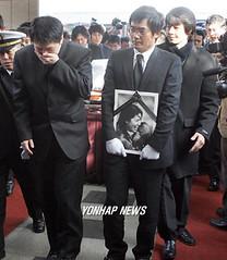 Lee Eun-ju funeral