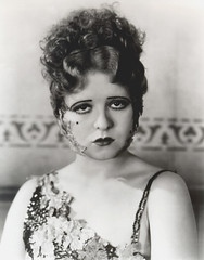 Clara Bow. (carbonated) Tags: 1920s leaves clarabow vintagemakeup