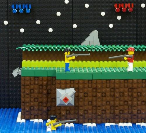 Videojuegos representados con LEGO