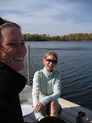 dock fun (emilycasserole) Tags: lake fall 06 carlin