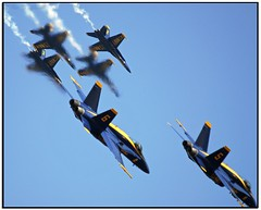 Blue Angels!  JSOH 2006 (Nikographer [Jon]) Tags: wow lenstagged md nikon andrews force action air maryland 2006 airshow boeing d200 airforce nikkor blueangels base usairforce fa18 fa18hornet jsoh andrewsairforcebase 80400mmf4556dvr nikond200 nikographer theworldthroughmyeyes jointserviceopenhouse jointserviceopenhouse2006 f404ge400 northropcorporation jsoh06 jsoh2006 20060520d2009090 nikographerjon jss20081
