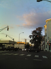 Corner of Prospect & Hampshire, Wednesday 5:42 pm 10/18/06 Cambridge, Massachusetts