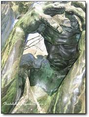 巴黎羅丹美術館室外雕塑