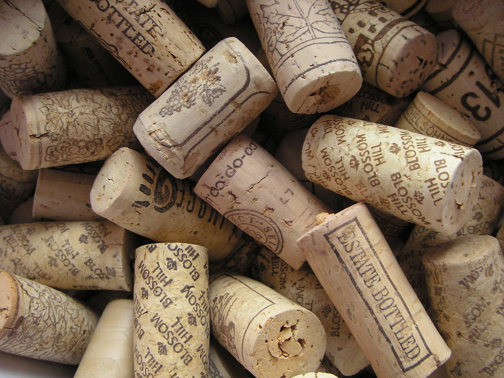 A box of corks