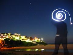 starry night (McGeoff) Tags: beach portugal night starry