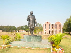 Nagaloka    Ambedkar statue 1