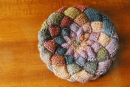 Ravelry Entrelac Hat Pattern By Lorraine J Major