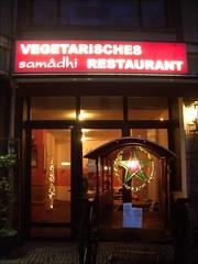 Samadhi vegetarian restaurant, Berlin