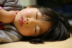 あら、寝ちゃった(^_^;)