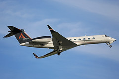 N310TK Gulfstream G550 Stansted 15th June 2017 (michael_hibbins) Tags: gulfstream g550 stansted 15th june 2017 aviation aircraft aeroplane aerospace airplane air airport airports corporate executive private jet jets bizjet biz n usa america