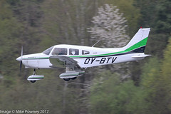 OY-BTV - 1978 build Piper PA-28-161 Cherokee Warrior II, on approach to Runway 24 at Friedrichshafen during Aero 2017 (egcc) Tags: 287816375 aero aerofriedrichshafen aerofriedrichshafen2017 bodensee cherokee edny fdh friedrichshafen lightroom oybtv pa28 pa28161 piper warrior