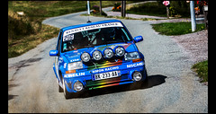 Renault 5 GT Turbo Gr.N (1988) (Laurent DUCHENE) Tags: vosgesrallyefestival rallye rally rallycar rallyevent motorsport historiccar car 2017 automobile automobiles auto renault 5 gt turbo grn super