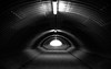 Into the Light (Raphael Images) Tags: light tunnel black white blackandwhite shadows eye hope nikon d5300