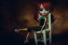 Dream Away ❤ (*DollyLove*) Tags: pullip ludmilla doll bokeh canon kate backdrop soft natural light love dreaming cute portrait