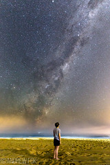 Feeling Small (andrewfokwm) Tags: nature nightphotography sydney stars night sky galaxy awe portrait