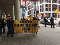 IMG_9948 (United Steelworkers - Metallos) Tags: steelworkers workers solidarity toronto demonstration rally banners flags usw trade unions labor syndicatdesmétallos hecla torexgold