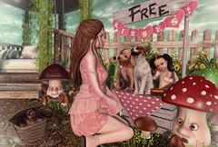 Free Kisses (Gabriella Marshdevil ~ Trying to catch up!) Tags: sl secondlife cute kawaii doll jian blackbantam sintiklia