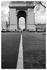 Arc de Triomphe (James Potter pics) Tags: leica leicam3 paris film bw arcdetriomphe kentmere streephotography jupiter8