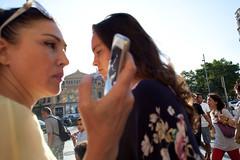 (Che-burashka) Tags: street candid people barcelona close canonef28mmf18usm
