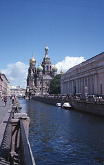 The Church of the Savior on Spilled Blood by Jonathan Shklarek - Taken with my Leica M6 on a Fuji 800 filmroll