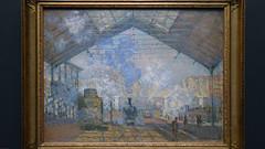 Monet, La gare Saint-Lazare