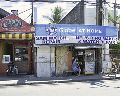 Sam and Nel's Shop (Beegee49) Tags: street shops watch jewelery talisay negros philippines