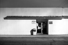 roll131 frame6 (Immane) Tags: pentaxspotmaticii industar502 135 35mm film analog aristaeduultra100 fomapan d76 11 blackandwhite monochrome bw roll131 burbank losangeles night longexposure bulb magnoliapark fairview montecarlodeli restaurant