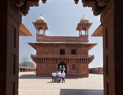 Diwan-i-Khas - Fatehpur Sikri (Mike Legend) Tags: india uttar pradesh fatehpur sikri
