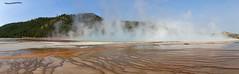 Geyser 2 - Grand Prismatic Spring (pniselba) Tags: usa estadosunidos wyoming yellowstone nationalpark parquenacional yellowstonenationalpark parquenacionalyellowstone géiser geysir geyser geiser grandprismaticspring