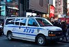 NYPD - 10th Pct 8915 (Arthur Lombard) Tags: police policedepartment policecar led bluelight lightbar chevrolet chevroletexpress chevy 911 999 112 17 nikon nikond7200 newyork nypd emergency street