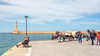 Chania (PhredKH) Tags: canonphotography fredkh photosbyphredkh phredkh splendid chania crete cretetown greekislands travelphotography traveltocrete bluesea coastal coastaltown greekisland hania bluesky coast outdoorphotography outdoors sea quayside water people sky