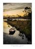 Strahan Sunset Dinghy - Tasmania (dominicscottphotography.com) Tags: dominicscott sony rx100m3 dscrx100m3 rx100iii australia tasmania strahan sunset dinghy boat