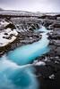 Bruarfoss (modesrodriguez) Tags: bruarfoss waterfall blue iceland turquoise cascada sky landscape nature cloudy silkeffect longexposure