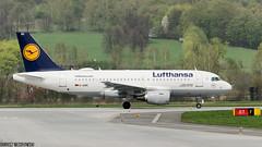 Lufthansa AIRBUS A319-100 (D-AIBG) (Dariusz W.) Tags: airplane aircraft airport epkk dariusz d7000 nikon wesołowski balice airlines airliner airways airbus air jet jetliner jetplane j