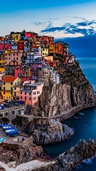 Follow me on Instagram🏠: giulia_cetto (alessandrocetto) Tags: town village city street road bridge orange green purple yellow pink paradise love relaxing relax travel vacation boats nature seascape clouds sky water ocean sea rocks cliff blue red colours colors houses