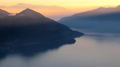 Lago Maggiore - Ticino - Svizzera (Felina Photography - www.mountainphotography.eu) Tags: locarno cardada cimetta lagomaggiore lake lac see meer lago sunset tramonto zonsondergang sonnenuntergang crepuscolo twilight ticino tessin insubria felinafoto felinaphotography
